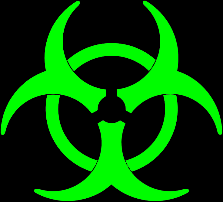 pin neon biohazard on pinterest