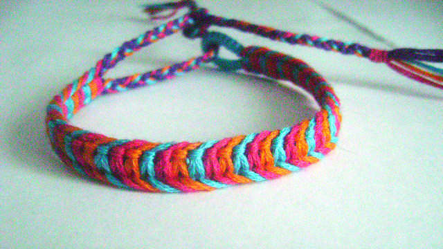 Tutorial Friendshipbraceletsnet Stunning Double Wave Friendship Bracelet Pattern