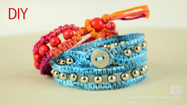 Using Square Knot Beads And On Clasp This Bracelet Wraps Around Your Wrist Two Times Make Own Chan Luu Style Wrap With