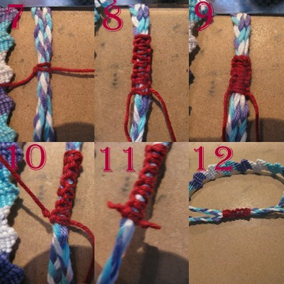 how to make macrame bracelet with sliding knot tutorial friendship bracelets net 9481